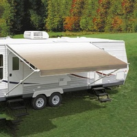 Carefree 13Ft Camel Shale Fade Roll Out Awning (No Arms)