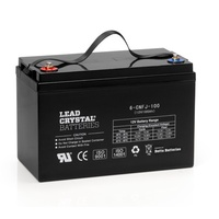 Lead Crystal Deep Cycle 12V 110Ah Battery