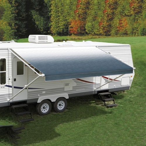 Carefree 11Ft Blue Shale Fade Roll Out Awning (No Arms)