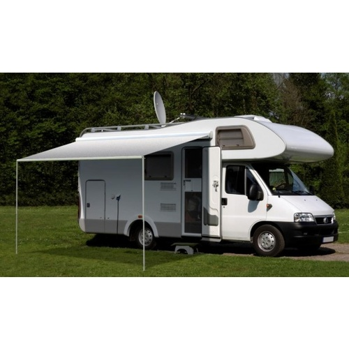 Carefree Freedom 3.5m Silver Shale Fade 12V Box Awning